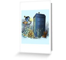 Finding Phonebooth Greeting Card