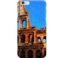 Roma Colosseum Antiqua - Italy iPhone Case/Skin