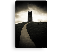 Dark Tor - Gothic Glastonbury Canvas Print
