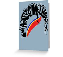 Captain EO Greeting Card
