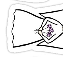 3 angels (mixed) Sticker