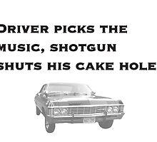 Driver Picks Music by raviolisenpai