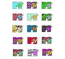 MTV Logos Photographic Print