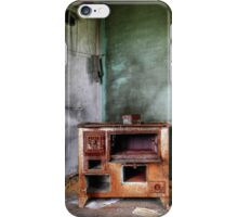 21.8.2014: Old, Rusty Stove iPhone Case/Skin