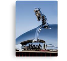 Classic 1965 Mack fire truck Canvas Print