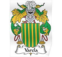 Varela Coat of Arms (Spanish) Poster