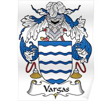 Vargas Coat of Arms (Spanish) Poster
