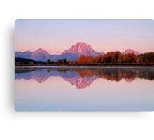 Alpen Glow Canvas Print