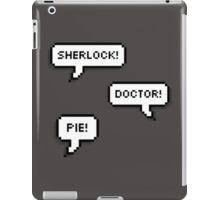 Sherlock Doctor Pie iPad Case/Skin