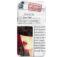 Secret Dossier iPhone Case/Skin