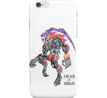 Hear Me Roar - Ifrit iPhone Case/Skin
