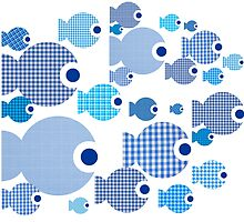 Patchwork fishes in my aquarium by PrivateVices