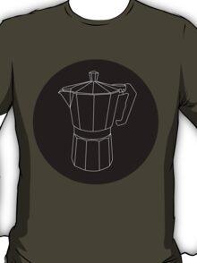 Moka Black Circle T-Shirt