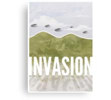 Invasion - Summer of discontent Canvas Print