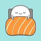sleepy sushi bed by kimvervuurt