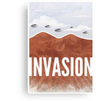 Invasion - Autumn of Humanity Canvas Print