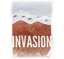 Invasion - Autumn of Humanity Poster