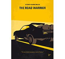 No051 My Mad Max 2 Road Warrior minimal movie poster Photographic Print