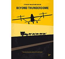 No051 My Mad Max 3 Beyond Thunderdome minimal movie poster Photographic Print