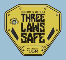 This Unit is THREE LAWS SAFE (Three Laws of Robotics) by futuristicvlad