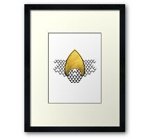 Power of the Seas Simple Framed Print