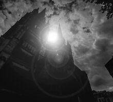 Dark cathedral by MarioGuti