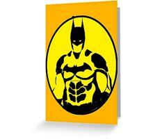 Batman Greeting Card