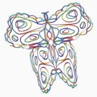 Rainbow Butterfly by KazM