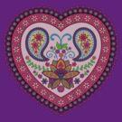 Decorative India Style Heart by shantitees