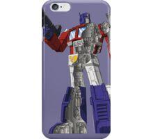 Optimus Prime - Écorché iPhone Case/Skin