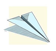 Paper Airplane 14 by YoPedro