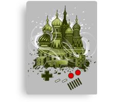 Tetris Gameboy Tribute to Alexey Canvas Print