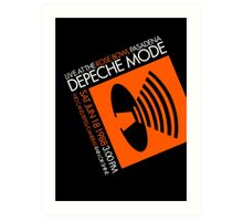 Depeche Mode : Rose Bowl 1988 poster tribute Art Print