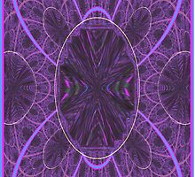 Purple Propeller Prism by Museenglish