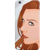 Natalie Dormer Portrait iPhone Case/Skin