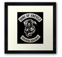 Sons of Anfield - Redmen Original Framed Print
