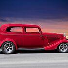 1934 Ford Tudor Sedan 'Profile' by DaveKoontz