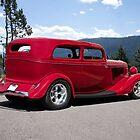 1934 Ford Tudor Sedan 'Rear View' by DaveKoontz