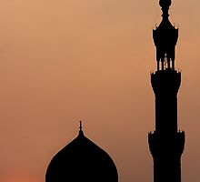 Mosque in the city of Cairo by PhotoBilbo