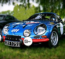 "The Alpine A110 ""Berlinette"" by ScenicViewPics"