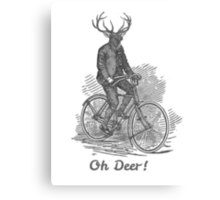 Oh Deer! Canvas Print