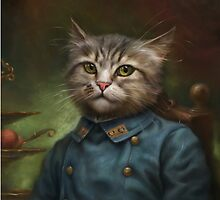 The Hermitage Court Confectioner Apprentice Cat  by Ldarro