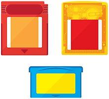 Cart Art - Handheld Mini-stickers by johndm