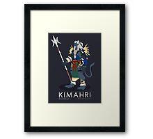 Kimahri Ronso - Final Fantasy X Framed Print