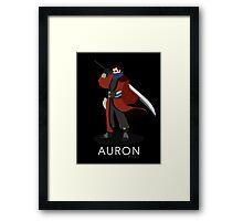 Auron - Final Fantasy X Framed Print