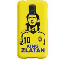 king Zlatan Samsung Galaxy Case/Skin