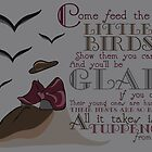 Feed the Birds by TEWdream