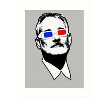 Bill Murray 3D Glasses Art Print