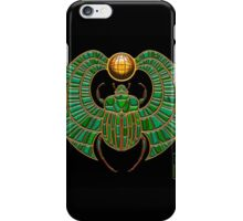 Jade Scarab  iPhone Case/Skin