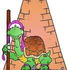 Turtle Confused by Skree
